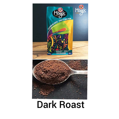 Hogo's Coffee Dark Roast Ground 400g