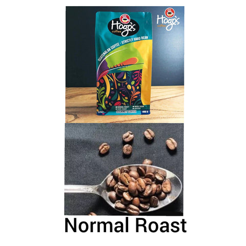 Hogo's Coffe Normal Roast Whole Bean Coffee 400g