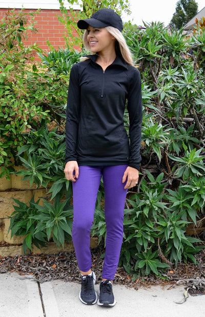 High Waisted Leggings - Midweight 230gsm