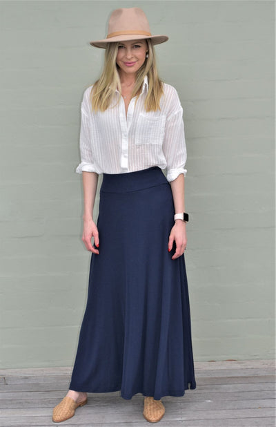 Marion Skirt (Heavyweight Rib Fabric)