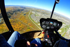 Helicopter tour - 30 Mins - City of Calgary