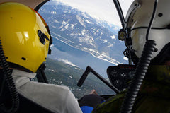 Learn to Fly a Helicopter - Intro Lesson.  British Columbia