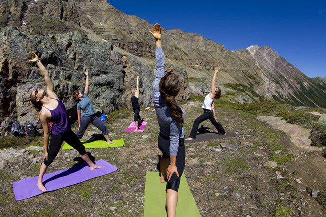 Gifts for Couples: Heli-Yoga.