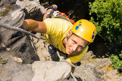 Learn to Rock Climb In Banff Alberta