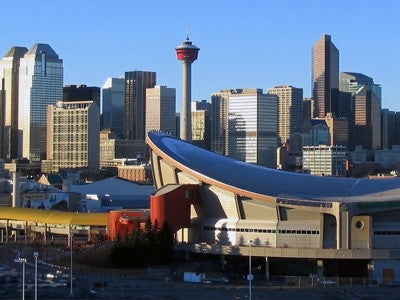 Awesome Tour Of Calgary By Air - For 2  With a Chauffeur Driven Limo! (4 Sold)