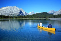 Canoeing Trip In Kananaskis for 4.Anniversary Gift