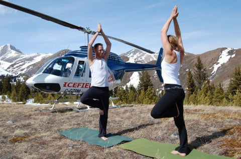 Helicopter Ride and Yoga Tour for 2