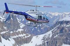 Helicopter Tour - Icefields Tour - 55 mins