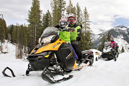 Snowmobile Half Day Tour