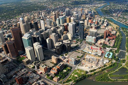 Tour Of Calgary By Air - For 2  (35 sold)