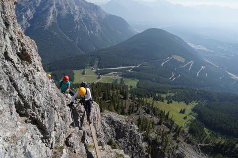 Via Ferrata Suspension Bridge - Ridgewalker Route