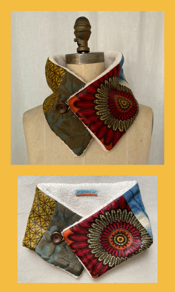 African Patchwork Neck Warmer