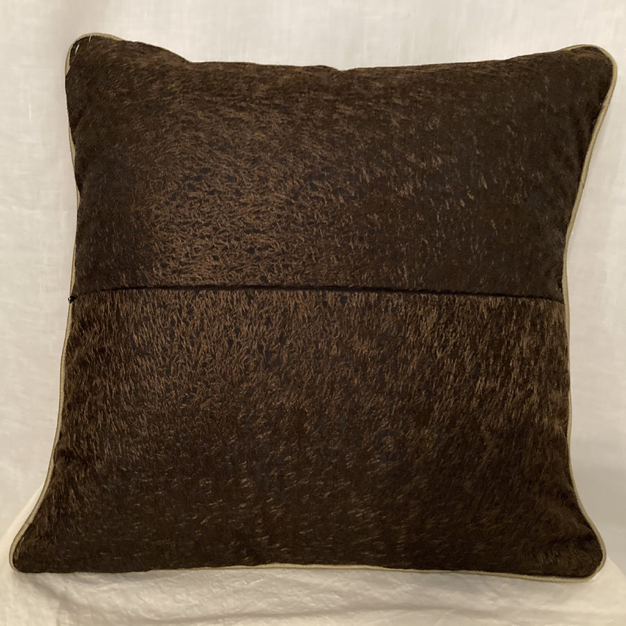 Obi and Mud Cloth Pillow