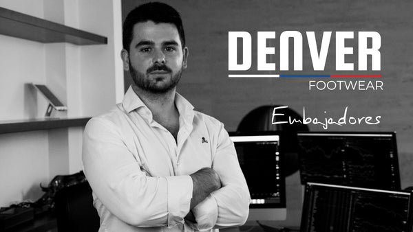 Enrique Moris, primer embajador de Denver Footwear