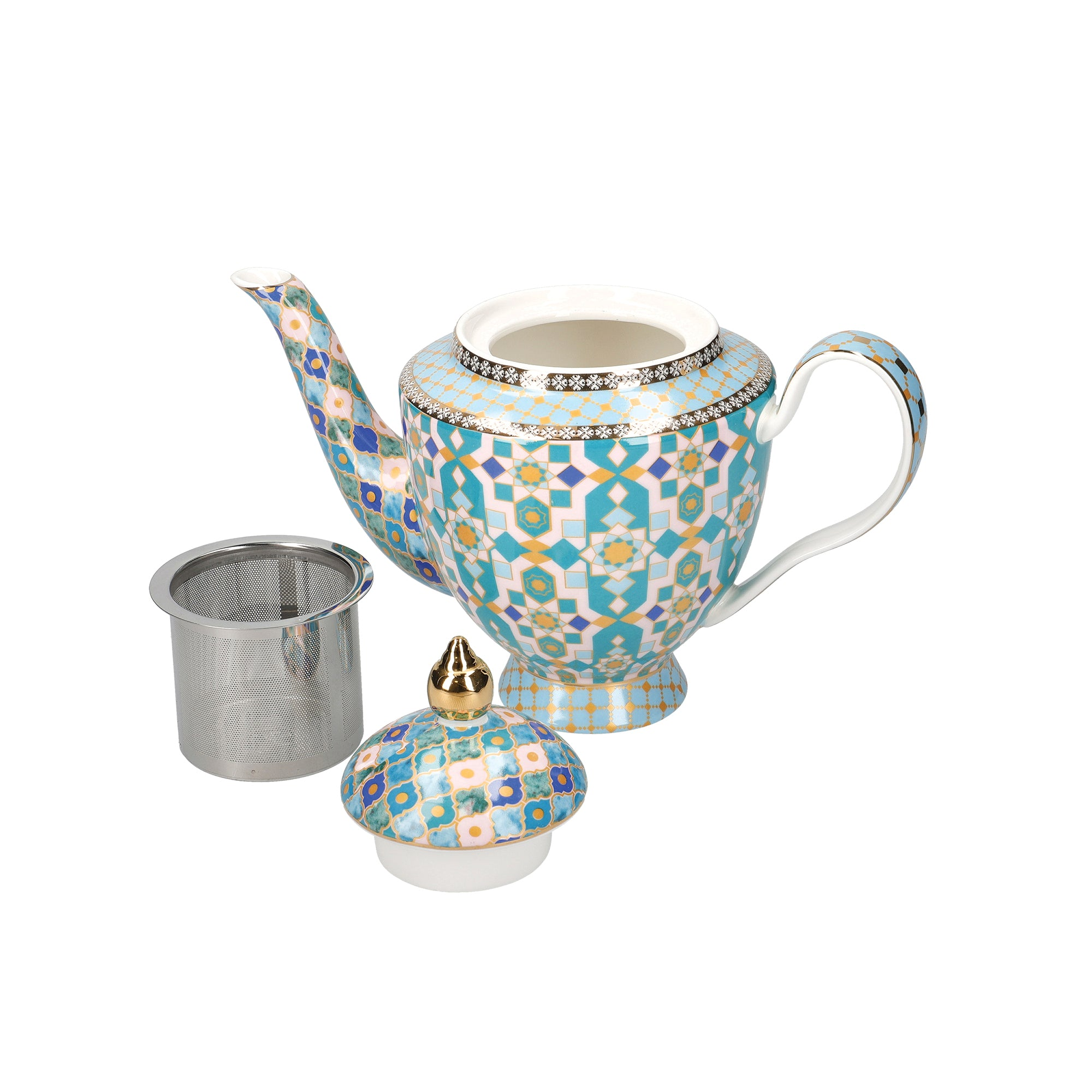 Teas & C's Kasbah Mint Teapot with Infuser