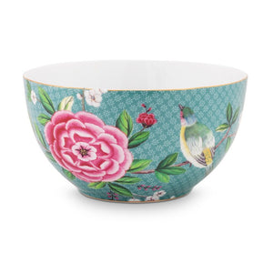 Pip Blushing Birds Blue Bowl