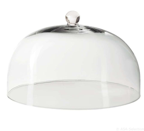 Large Glass Cake Dome, round