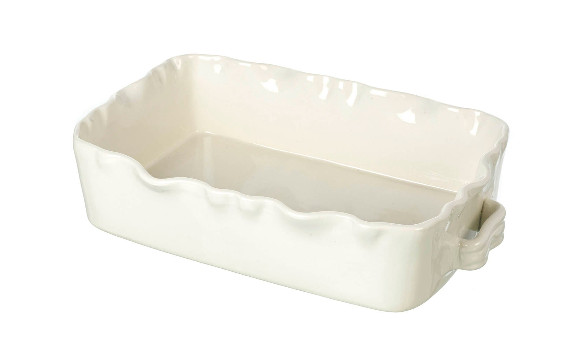 Cream Oven to Table Rectangular Baking Dish, L