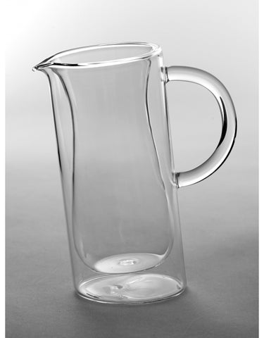 Double Walled Glass Jug