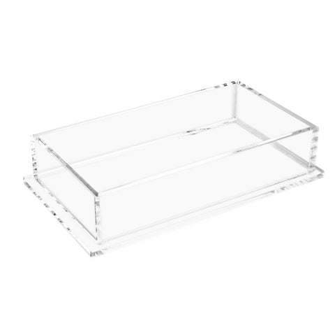 Clear Lucite Napkin Holder