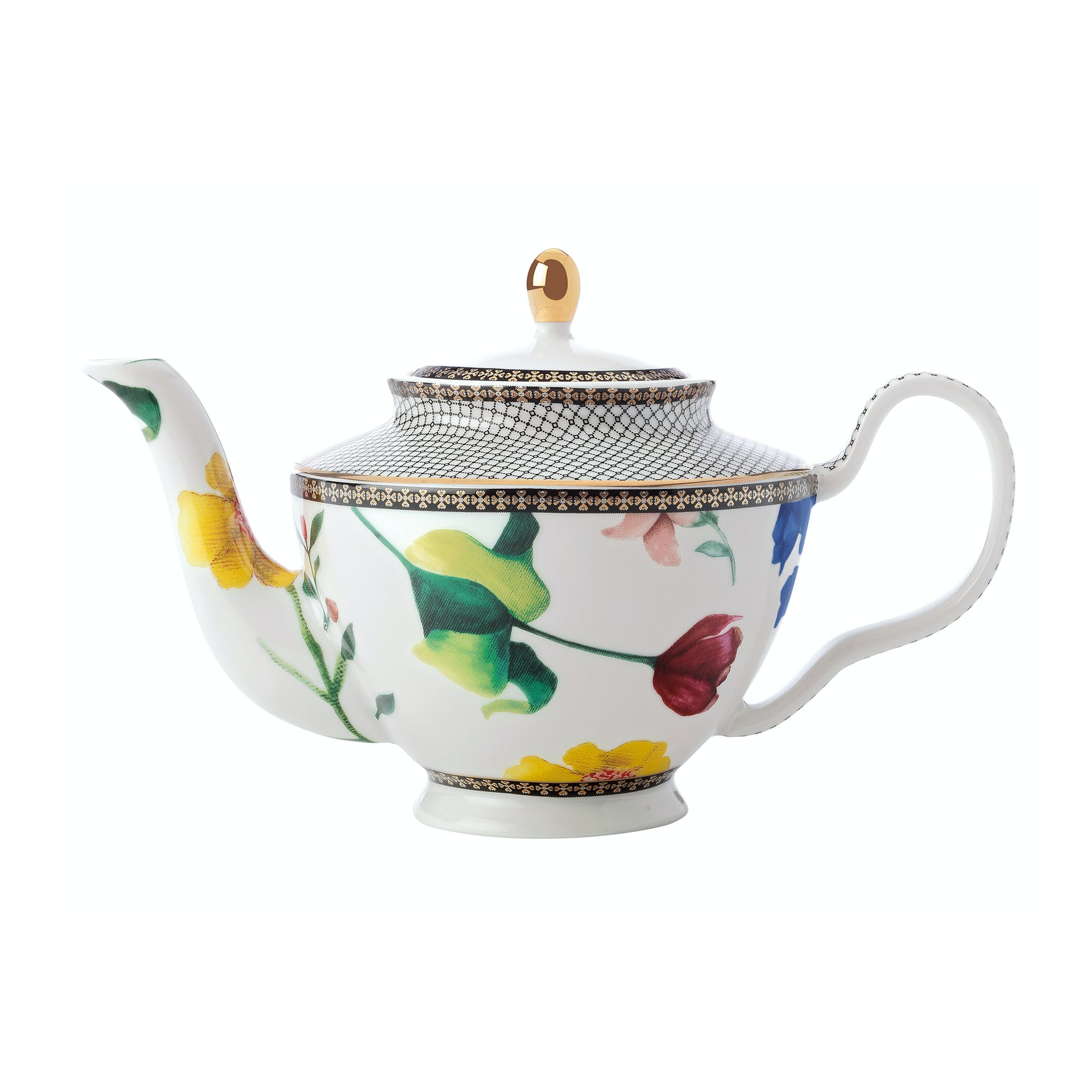 Teas & C's 500ml Teapot with Infuser, White, S
