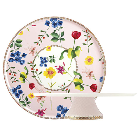 Tea's & C's Footed Cake Stand, Rose
