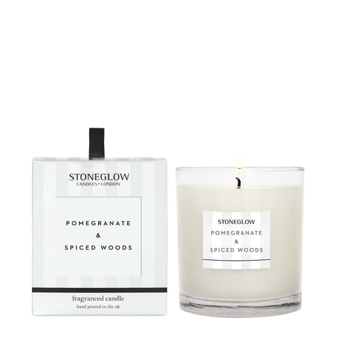 Modern Classics NEW - Pomegranate & Spiced Woods Candle