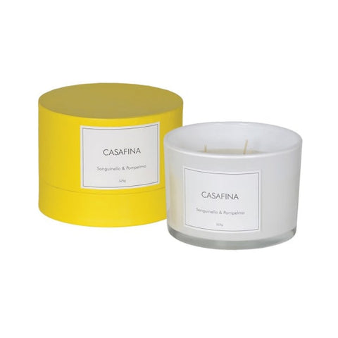 Casafina Orange and Grapefruit Candle