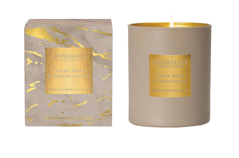 Luna - Tonka Bean & Sandalwood Candle