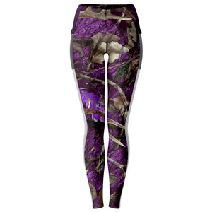 Purple Hunting - Mesh Pocket Legging