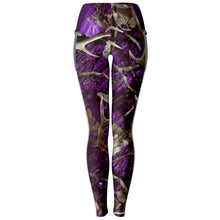 Load image into Gallery viewer, Purple Hunting - Mesh Pocket Legging