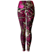 Load image into Gallery viewer, Pink Hunting - Mesh Pocket Legging