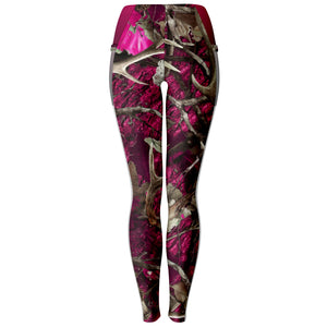 Pink Hunting - Mesh Pocket Legging