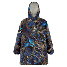 Load image into Gallery viewer, Turquoise Hunting Camo - Snug Hoodie