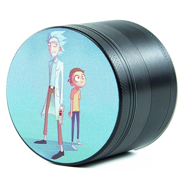 Rick & Morty Inspired 4 Layers Aluminum 2.5