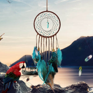 Dream Catcher Handmade for Bedroom Decor Macrame Wall Hanging Bohemian Home Decoration - The Perfect Gift