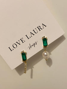 Emilia Pearl Drop Earrings