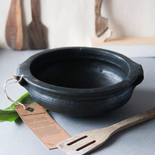 Load image into Gallery viewer, Blackened Urali Pot from Green Heirloom