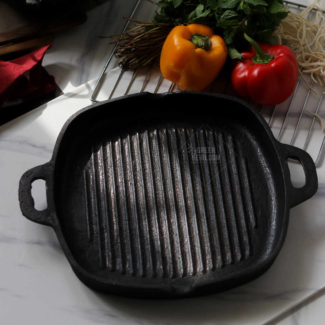 Cast Iron Grill from Green Heirloom