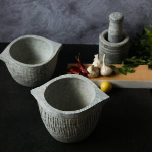 Soap Stone Pot/ Kalchatti Kerala Style from Green Heirloom