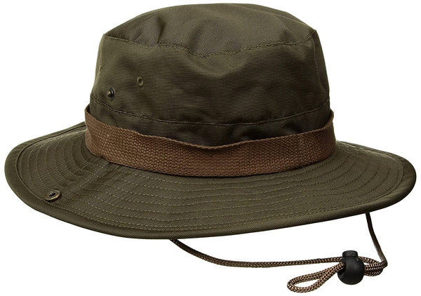 Ration Bucket Hat | Brixton | Tropenhut | Safari-Hut | Ranger-Hut | Anglerhut | olivgrün | neu
