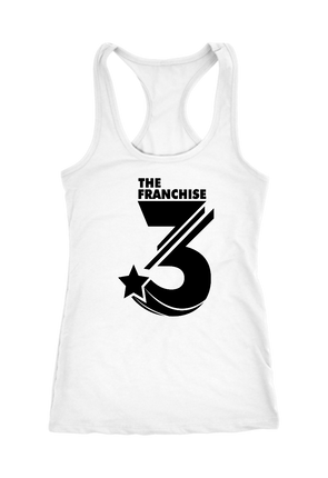 The Franchise 3 Logo Racerback Tank