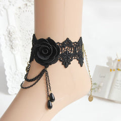Dark Rose Anklet - Florence Scovel - 2