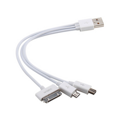 3-in-1 USB Cable Adapter