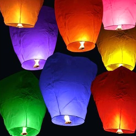 10 or 20 Pack Chinese Sky Fly Fire Lanterns - BoardwalkBuy - 1