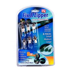 6 Piece Fix A Zipper Set - As Seen On TV - BoardwalkBuy - 3