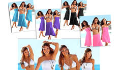 4-in-1 Strapless Beach Dress - Assorted Colors