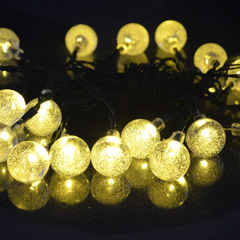 20 LED Solar-Powered Crystal Ball String Lights - BoardwalkBuy - 6