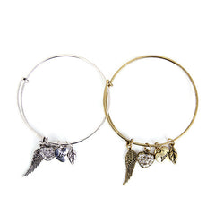 Angel Love Charm Bangle - Florence Scovel - 2