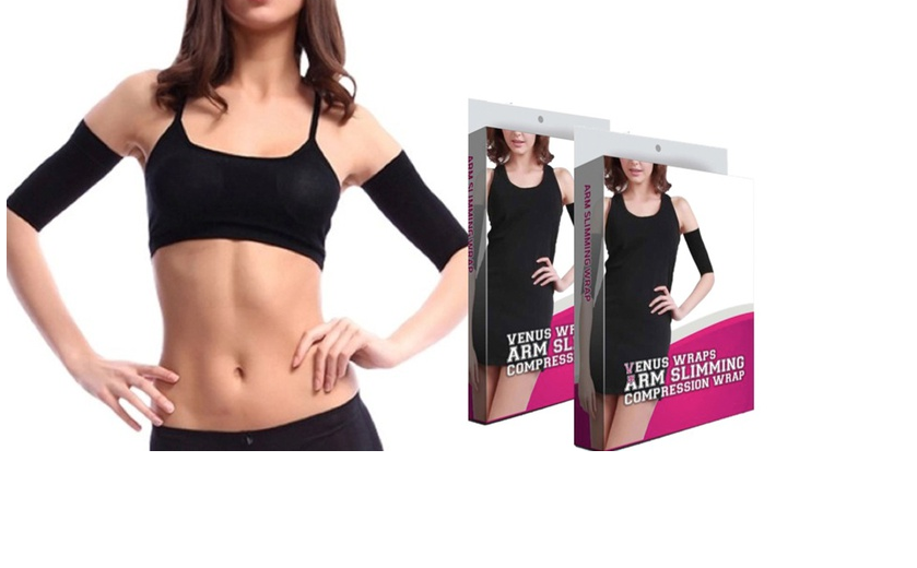 Pair of Arm Slimmer Compression Wraps